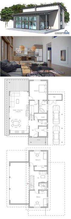 Plan de petite maison   wwwm-habitatfr/travaux-de-gros-oeuvre - Modeles De Maisons Modernes