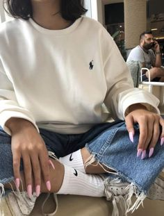 jacq, a user on Spotify Retro Outfits, Cute Casual Outfits, Vintage Outfits, Stylish Outfits, Comfortable Outfits, Fall Winter Outfits, Summer Outfits, 40s Mode, Mode Kylie Jenner