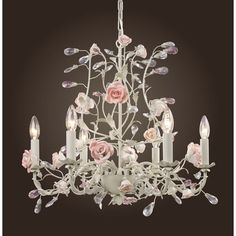 Elk Lighting Heritage Candle 6 Light Chandelier