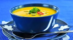 Quick-and-Easy Pumpkin Soup #glutenfree #vegetarian  #antiinflammatory