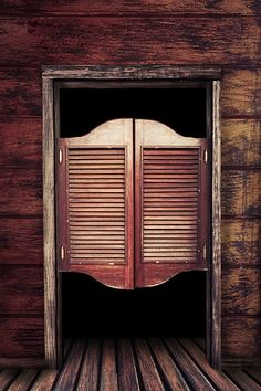 Dark Saloon Doors 1 - Splash Of Color