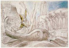 Le magnifiche illustrazioni della Divina Commedia di William Blake #illustrationsiam Blake