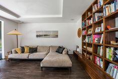 Családi ház - XII. kerület • Gortva Építész Stúdió Budapest, Couch, Furniture, Home Decor, Settee, Decoration Home, Sofa, Room Decor, Home Furnishings