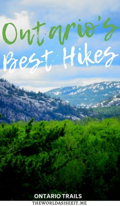 Ontario has a wealth of natural beauty. And the best way to see it is on Ontario trails. Here are seven of the best hikes in Ontario with awesome views. Vancouver, Toronto, Ontario Travel, Ontario Camping, Road Trip, Canadian Travel, Canadian Rockies, Pokemon, Best Hikes