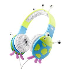 VCOM DE802 Blue Monster Headphones Children Headphones for Boys Girls Over the Ear Kids Headphones Toddler for Ipad Tablets Wired Kids Headsets for MP3 Player Kids Headphones Volume Limiting for Mac VCOM http://www.amazon.com/dp/B00VW7DFPW/ref=cm_sw_r_pi_dp_iffMwb15QD8R7