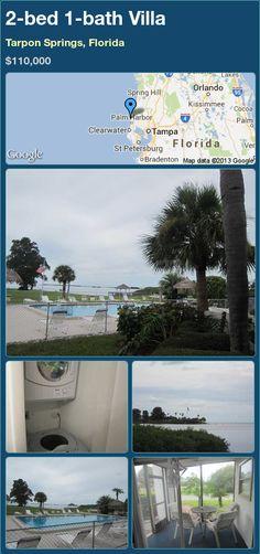 2-bed 1-bath Villa in Tarpon Springs, Florida ►$110,000 #PropertyForSale #RealEstate #Florida http://florida-magic.com/properties/20258-villa-for-sale-in-tarpon-springs-florida-with-2-bedroom-1-bathroom