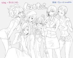 osomatsu san and girlymatsu image