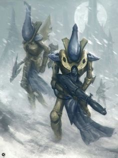 Warhammer 40k Eldar Wraithguards