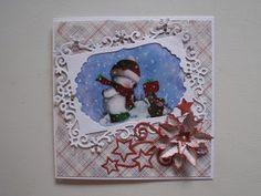Fritids sysler: Julekort med snemand