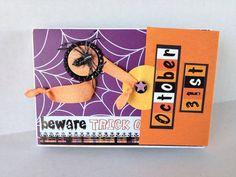 Halloween photo album. Envelope scrapbook album. by CallMeCraftie, $23.00