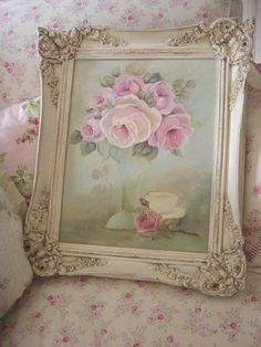 cindy ellis art | Rose Tea Cup