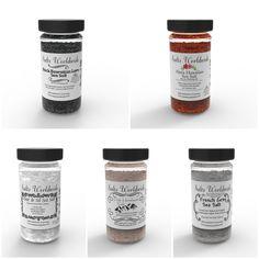 Salt Sampler 5 Pack - https://saltsworldwide.com/buy/salt-sampler-5-pack/  Our Salt Sampler 5 Pack Comes with a total of 4 – 4 Ounce Glass Jars and 1 Jar of (90 grams) Fleur De Sel Containing Himalayan Salt, Black Lava Hawaiian Salt, Red Alaea Salt, French Grey Salt, and Fleur De Sel!   Himalayan Salt Pink Salt or Himalayan Salt is a natural gourmet food kosher... #Salt #Seasalt
