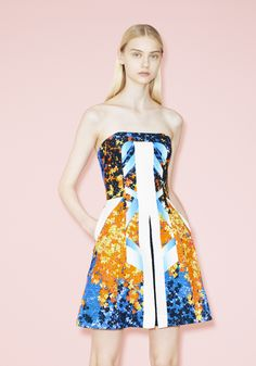 Collection Printemps Eté 2014 Peter Pilotto au Bon Marché Rive Gauche #lebonmarche #peterpilotto #mode #femme #fashion #women #robe #dress #ete #summer #shopping #paris http://www.lebonmarche.com/marques/peter-pilotto.html