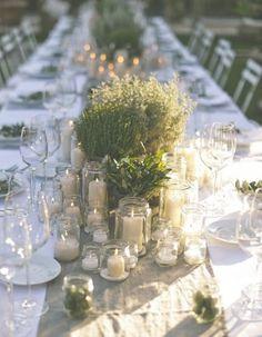 An Al Fresco Tuscan Wedding - Mélissa . An Al Fresco Tuscan Wedding Tuscan Tablescaping Tuscan Wedding, Rustic Wedding, Our Wedding, Dream Wedding, Garden Party Wedding, Destination Wedding, Wedding In Nature, Long Wedding Tables, Wedding Blog