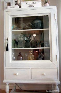 KUUNSÄTEESSÄ: Keräilykohteena lasimaljakot