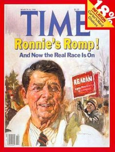 Time - Ronald Reagan - Mar. 10, 1980 - Governors - California - Presidential Elections