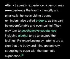 Trauma. #ptsd #cptsd