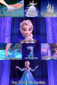 Top THAT, Cinderella!