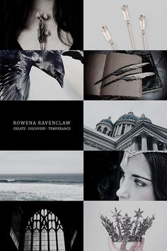 hp aesthetic = the founders = Rowena Ravenclaw