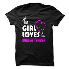 (Greatest Low cost) girl loves her border terrier - Order Now...