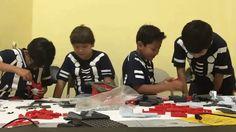 Niños oaxaqueños buscan ganar concurso de robótica