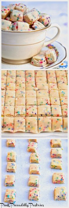 Pink Piccadilly Pastries: Fairy Bites - A Sweet Little Treat make medible with cannabutter may have to add a touch more almond extract or maybe half canna butter half regular butter