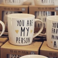 You are my person! Drink that morning cuppa in style. #tea #decor #interiordesign