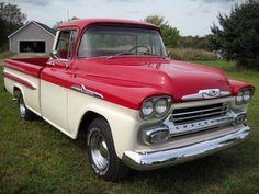1958 Chevy Apache 3200 Fleetside Deluxe