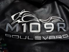 Boulevard M109R Motorcycle jacket embroidery