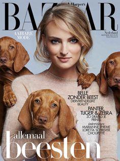 Harper's Bazaar Netherlands October 2015 Cover - MaxMara