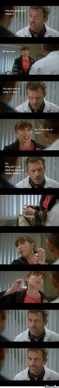 House MD Inhaler Scene - Inhaler