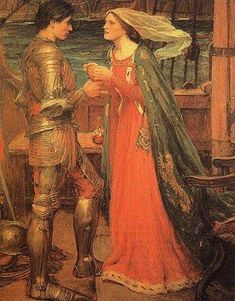 Tristan and Isolde  John William Waterhouse