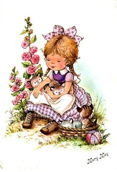 Qui était Mary May ? Holly Hobbie, Vintage Drawing, Vintage Art, Cute Images, Cute Pictures, Mary May, Cute Dolls, Cute Illustration, Cute Cards