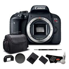 Canon EOS Rebel T7i Digital SLR Camera (Body Only) (Kit Box) 1894C001 Starter Bundle Click the picture for more.. New 2020 Products Trends Phone Case Amazon Ebay Canon Dslr Camera, Canon Lens, Canon Cameras, Leica Camera, Camera Gear, Film Camera, Canon Eos Rebel
