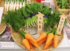 Edo-Tokyo vegetables / Official Tokyo Travel Guide GO TOKYO