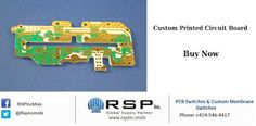 Rsp Inc. is the professional manufacturer and designer of circuit boards, #CustomPrintedCircuitBoard, printed circuit board assembly at very reasonable prices.