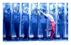 """Billy Elliot """"Angry Dance"""" Ellie: Love the use of moving panels in the choreo! Dance Like This, Billy Elliot, London Theatre, West End, Musical Theatre, Opera, Musicals, Broadway Shows, Awards"""
