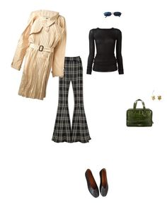 """""""Untitled #292"""" by puppytheft ❤ liked on Polyvore featuring Lemaire, Beaufille, Jean-Paul Gaultier, Rick Owens, Versace, Prada and Rodarte"""