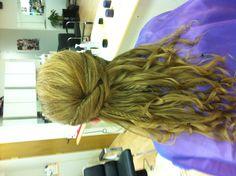 Bridesmaid hair by me :)