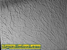 I Think My Husband Has Fallen In Love With The Knockdown Texture - Sheetrock texture designs