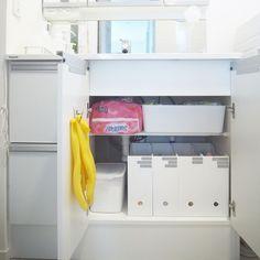 使いやすさ格段にアップ!「洗面所の収納」名人7軒のお宅を拝見♡ - LOCARI(ロカリ)