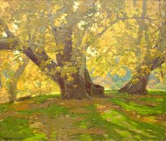 Edgar Payne, Sycamore in Autumn