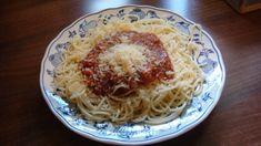 Špagety s fitness omáčkou - Powered by @ultimaterecipe