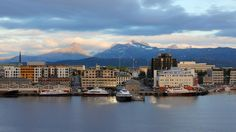 Bodø, Nordland - a city surrounded by mountains