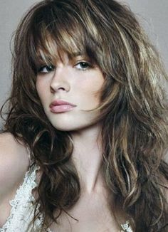 try on short hair styles medium length hairstyles with bangs for thick wavy hair 5203 | b5203ae4285dff49dc368b5484a39fcb long shaggy hairstyles long haircuts