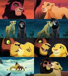 One of my childhood ships: Kiara and Kovu. Kiara Lion King, Kiara And Kovu, Lion King 1, Lion King Fan Art, Simba And Nala, Disney Lion King, Arte Disney, Disney Fan Art, Disney Love