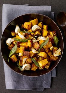 Maple-Roasted Butternut Squash - delicious!!