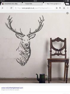 Stag stencil?