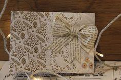 schön und einfach: Papiermäschli schnell gemacht.. Burlap, Reusable Tote Bags, Blog, Paper, Diy, Craft, Creative, Nice Asses, Xmas