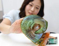 LG : un TV OLED enroulable de 55 pouces présenté au CES 2016